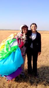 with Shital Mahajan the dare-devil sky diver